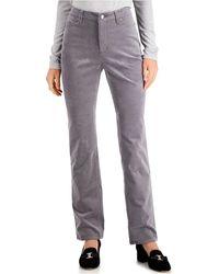 Charter Club Lexington Corduroy Tummy-control Pants, Created For Macy's - Black