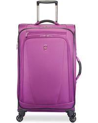 "Atlantic Infinity Lite 3 21"" Expandable Spinner Suitcase - Purple"