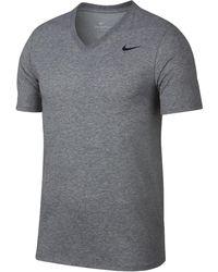Nike - Dry V-neck Training T-shirt - Lyst