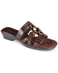 Easy Street Torrid Sandals - Brown