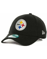 sale retailer 959aa 5acf9 KTZ - Pittsburgh Steelers First Down 9forty Cap - Lyst