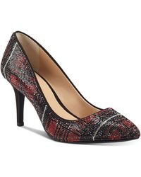 INC International Concepts Zitah Embellished Pointed Toe Pumps, Created For Macy's - Multicolour