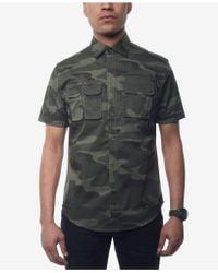 Sean John - Flight Shirt, Created For Macy's - Lyst