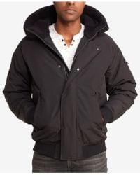 Sean John - Men's Hooded Bomber Jacket - Lyst