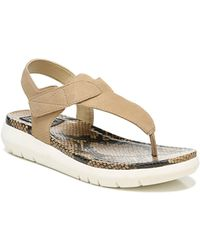 Naturalizer Lincoln Thong Sandals - Multicolour
