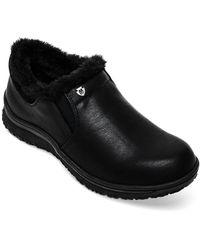 Minnetonka Erie Faux-fur Booties - Black