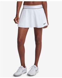 2b8d9582124 Nike - Court Dry Flouncy Tennis Skort - Lyst