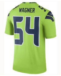 separation shoes 59af4 9d165 Nike Men's Seattle Seahawks Mesh Logo T-shirt in Green for ...
