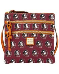Dooney & Bourke - Florida State Seminoles Triple-zip Crossbody Bag - Lyst