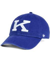 online store 63a96 0127c 47 Brand - Kentucky Wildcats Clean-up Cap - Lyst