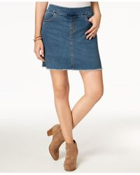 Style & Co. - Petite Pull-on Frayed-hem Skort, Created For Macy's - Lyst