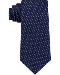 Michael Kors Shadowed Geo Diamond Tie - Blue