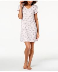 Charter Club - Cotton Picot-trim Sleepshirt, Created For Macy's - Lyst