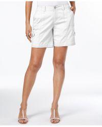 Style & Co. - Comfort-waist Cargo Shorts - Lyst