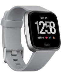 Fitbit Versatm Grey Touchscreen Smart Watch 39mm - Gray