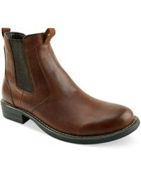 Eastland Daily Double Side-gore Boots - Brown