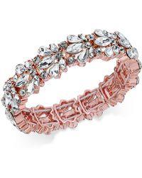 Charter Club | Crystal Stone Stretch Bracelet | Lyst