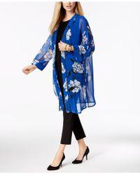 Alfani - Floral-print Kimono, Created For Macy's - Lyst