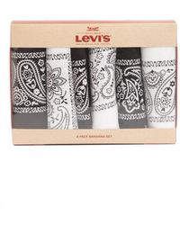 Levi's Bandana Headband Gift Sets - Pack Of 6 - Black
