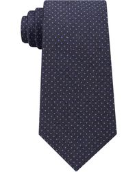 Michael Kors - Men's Pin Dot Melange Silk Tie - Lyst