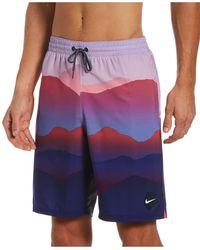 Nike Swim Landscape Vital Volley Shorts - Multicolor