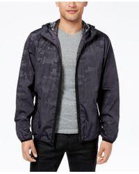 Sean John - Camouflage Full-zip Hooded Windbreaker, Created For Macy's - Lyst