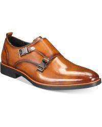 Alfani - Heath Alfatech Double Monk Plain-toe Loafers, Created For Macy's - Lyst