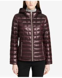 CALVIN KLEIN 205W39NYC - Packable Down Puffer Coat - Lyst
