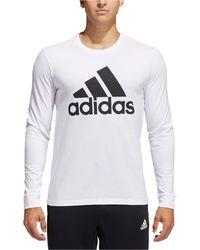 adidas - Logo Long-sleeve T-shirt - Lyst