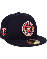 new concept 46f61 95f46 KTZ - Minnesota Twins Ultimate Patch Collection Front 59fifty Fitted Cap -  Lyst