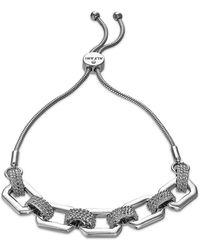 Alfani Link & Snake-chain Slider Bracelet, Created For Macy's - Metallic