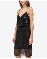 French Connection - Aster Shine Dress - Lyst