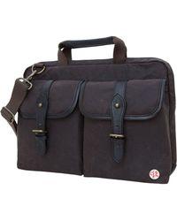 """Token - Waxed Knickerbocker 15"""" Laptop Bag - Lyst"""