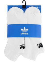 adidas - Originals 6-pk. No-show Socks - Lyst