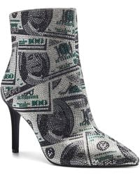INC International Concepts Ingra Bling Booties, Created For Macy's - Multicolor