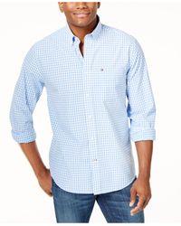 Tommy Hilfiger - Long-sleeve Twain Check Shirt - Lyst
