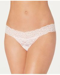 Maidenform - Sexy Must Have Sheer Lace Thong Dmeslt - Lyst
