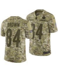 1bead05a7df Nike - Antonio Brown Pittsburgh Steelers Salute To Service Jersey 2018 -  Lyst