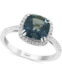 Effy Collection - Effy® Grey Spinel (2-5/8 Ct. T.w.) & Diamond (1/4 Ct. T.w.) Ring In 14k White Gold - Lyst