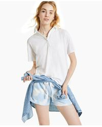 Style & Co. Polo Top, Created For Macy's - White