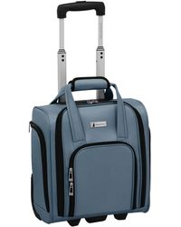 London Fog Southbury Ii Under-seater Bag, Created For Macy's - Blue