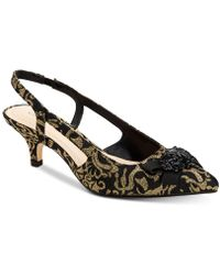 Charter Club Lollee Bow Slingback Pumps, Created For Macy's - Black