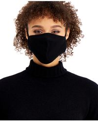Charter Club Cashmere Ear Loop Facemask, Created For Macy's - Black