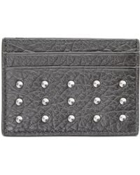 BOSS - Leather Studded Passcase - Lyst