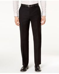 Michael Kors - Classic-fit Airsoft Stretch Solid Suit Trousers - Lyst