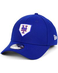 7d99596a7e8 Lyst - Ktz New York Mets State Flective 39thirty Cap in Blue for Men