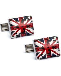 English Laundry - Union Jack Cufflinks - Lyst