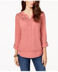 various colors shop for best prevalent Women's Style & Co. Tops from A$13 - Lyst