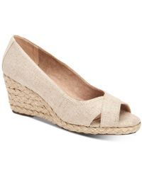 Charter Club - Toniie Wedge Sandals, Created For Macy's - Lyst