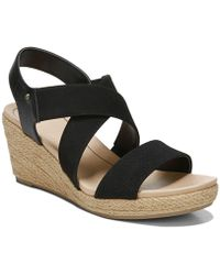 ae2e59a1dbc Lyst - Dr. Scholls Brita Wedge Sandals in Black